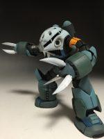 【ガンプラ RG】ズゴック1/144  MSM-07量産型(シャア専用改) 改修 塗装